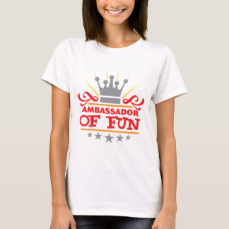 Camiseta Embaixador Divertimento