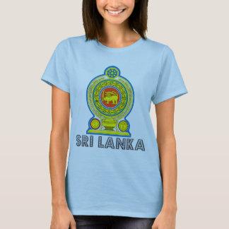 Camiseta Emblema cingalês