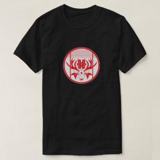 Camiseta Emblema da flor do fanfarrão