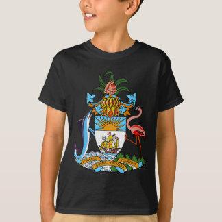 Camiseta emblema de bahamas
