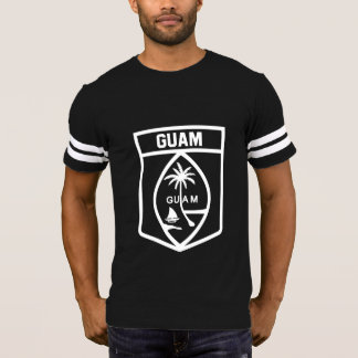 Camiseta Emblema de Guam