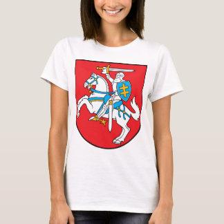 Camiseta Emblema de Lithuania - brasão - Lietuvos Herbas