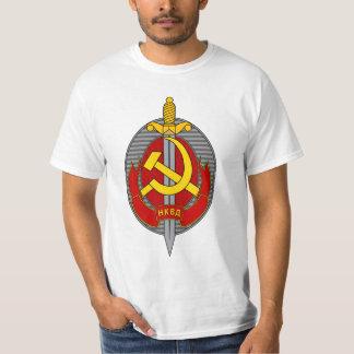 Camiseta Emblema de NKVD - Народныйкомиссариатвнутреннихдел