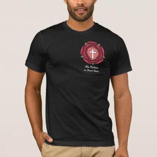 Camiseta Emblema de Rosicrucian, Mia Victoria em Cruce