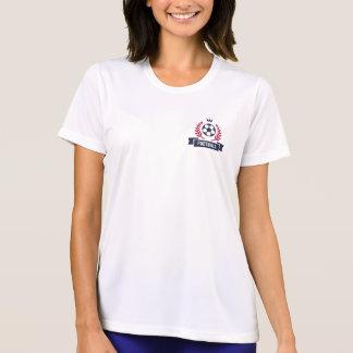 Camiseta Emblema formal do futebol