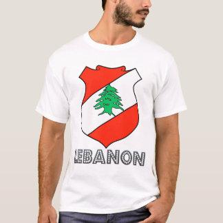 Camiseta Emblema libanês