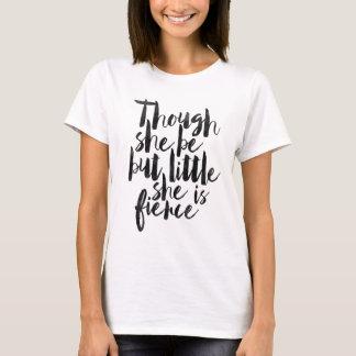 Camiseta Embora seja mas pouco é feroz