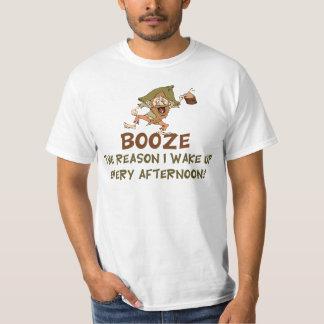 Camiseta Emborracha-se a razão que eu acordo dizer