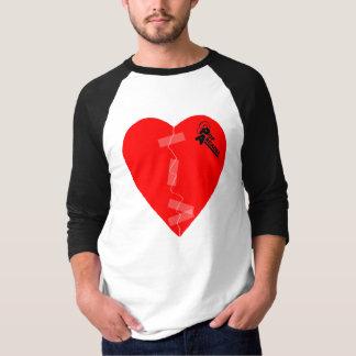 Camiseta emende minha cópia do coração