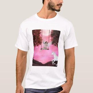 Camiseta Emissão para o unicórnio - t-shirt da fantasia