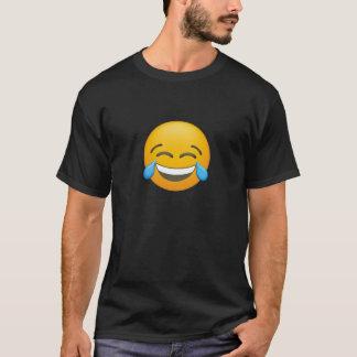 Camiseta Emoji - cara de grito feliz