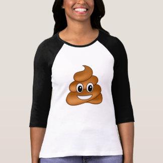 Camiseta Emoji de sorriso do tombadilho