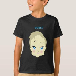 Camiseta emoji do bebê - furado - obscuridade