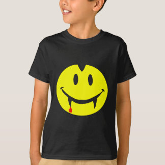 Camiseta emoji dracula do vampiro