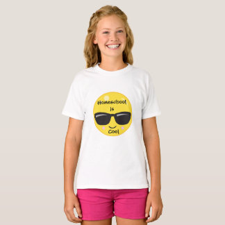 Camiseta Emoji Homeschool é legal