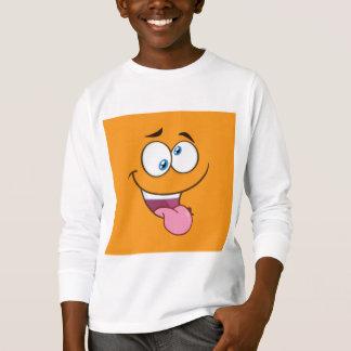 Camiseta Emoji quadrado pateta parvo