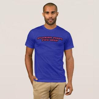 Camiseta Empilhando espreitadelas