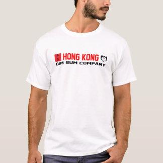 Camiseta Empresa de Hong Kong Dim Sum - branco