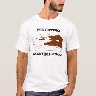 Camiseta Empurrar faz o Orogeny da geologia da terra firme