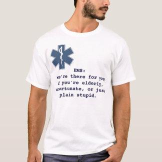Camiseta EMS: nós somos lá para você