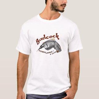 Camiseta Encanamento de Badcock, água de esgoto, elétrica