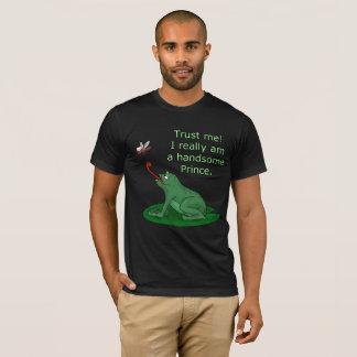 Camiseta Encantamento de príncipe e sapo engraçado