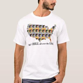 Camiseta Encantos afortunados para o t-shirt leve ou branco