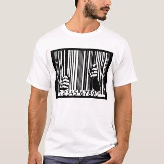 Camiseta Encarcerado pelo código de barras