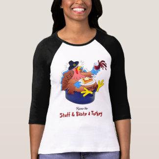 Camiseta Encha e regue uma Turquia (o vinho)