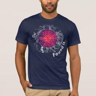 Camiseta Encontrado lhe! Boson de Higgs