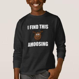 Camiseta Encontre este alce de Amoosing