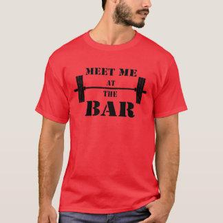 Camiseta Encontre-me no T do bar