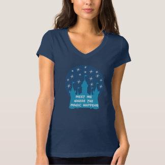 Camiseta Encontre-me onde a mágica acontece