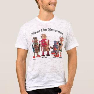 Camiseta Encontre o t-shirt dos Normals (a edição especial)