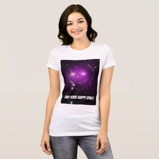 Camiseta Encontre seu espaço feliz