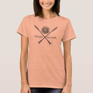 Camiseta Encontre seu norte verdadeiro