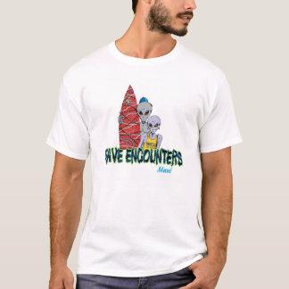 Camiseta Encontros da onda