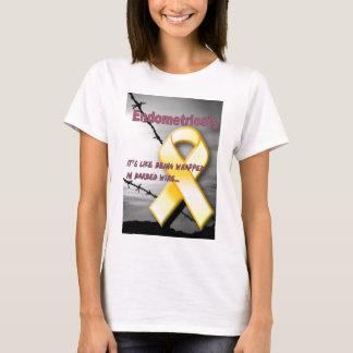 Camiseta Endo:  É como o envolvimento no arame farpado