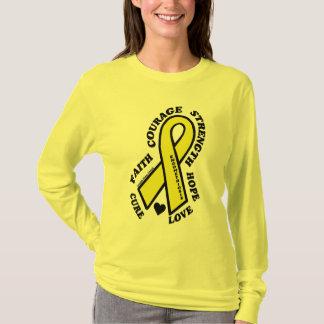 Camiseta Endometriose da cura do amor da esperança…