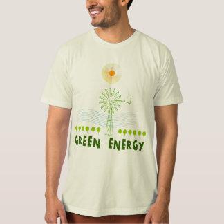 Camiseta Energia verde