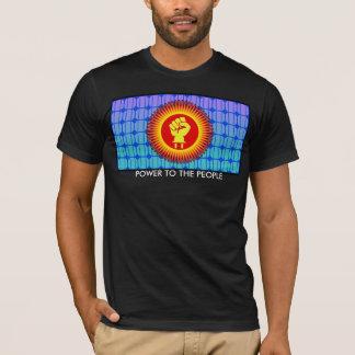 Camiseta Energias solares às pessoas - t-shirt
