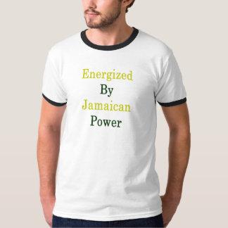 Camiseta Energizado pelo poder jamaicano
