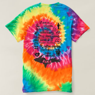 Camiseta Enfermeira de Yooper, I <3 Michigan, tintura