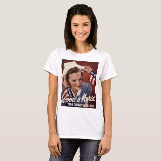 Camiseta Enfermeira do vintage