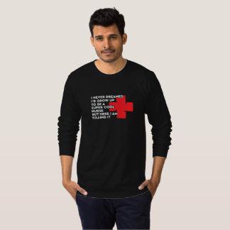 Camiseta Enfermeira legal super sonhada o Dia das Bruxas