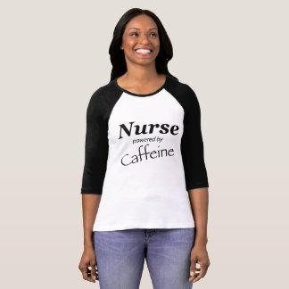 Camiseta Enfermeira psta pela cafeína