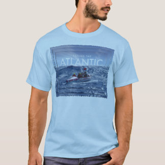 Camiseta Enfrentando o Atlântico - T