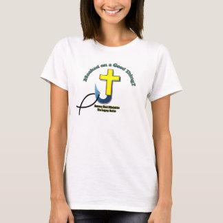 Camiseta Enganchado em uma boa coisa - mulheres