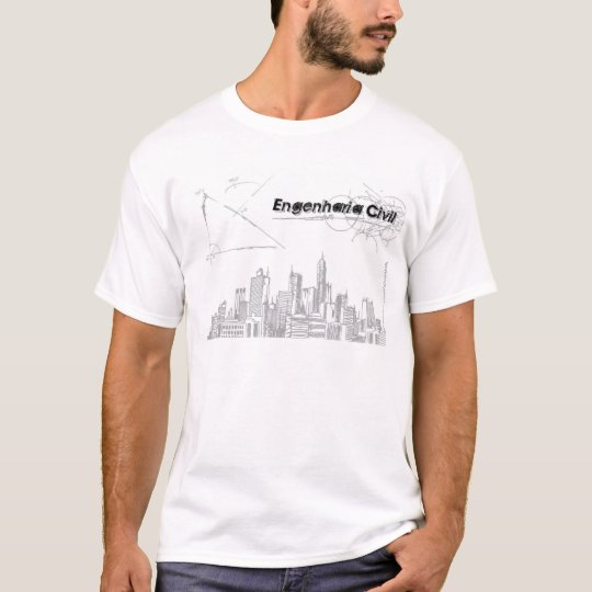 Camiseta Engenharia Civil