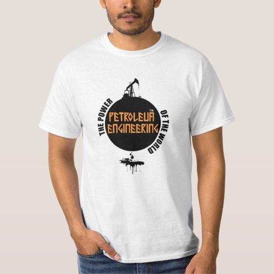 Camiseta Engenharia de Petróleo